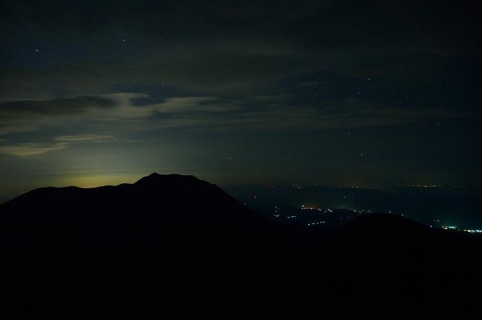 中岳 日の出前 (3)