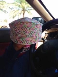オマーン帽子