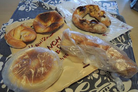 103軽井沢で買ったパン
