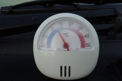 101朝の気温