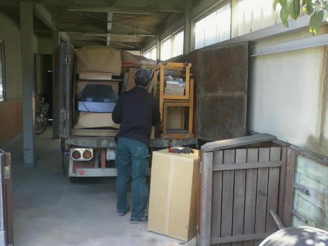 家財道具一式・食器棚・タンス類処分、引取り(福島市、須賀川市、郡山市、白河市、会津若松市、喜多方市)