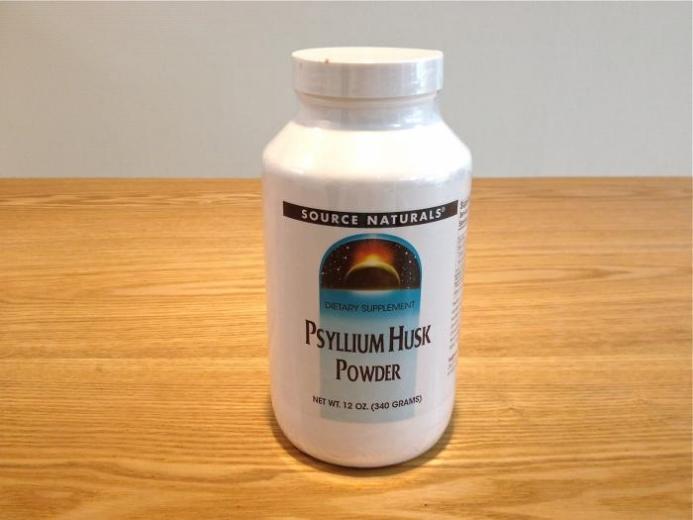 食物繊維で低糖質。サイリウムハスクの使用法。
