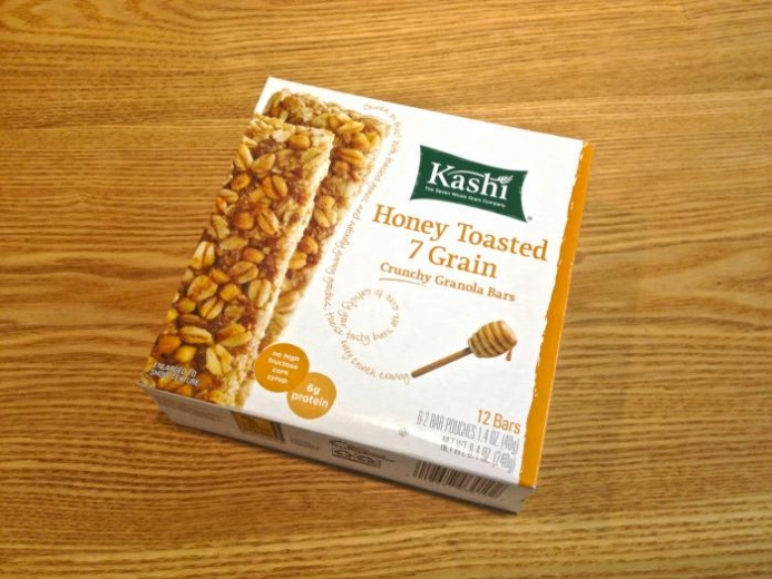 Kashi, Crunchy Granola Bars, Honey Toasted 7 Grain, 12 Bars, 1.4 oz (40 g) Each $5.12