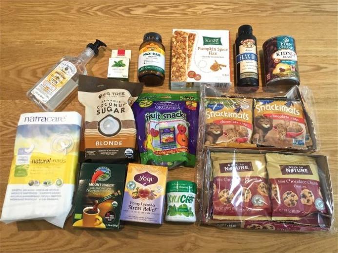 年末年始に食べたいお菓子類を中心に。iHerb購入商品一覧。