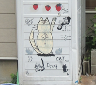 猫の絵拡大DSCN8960