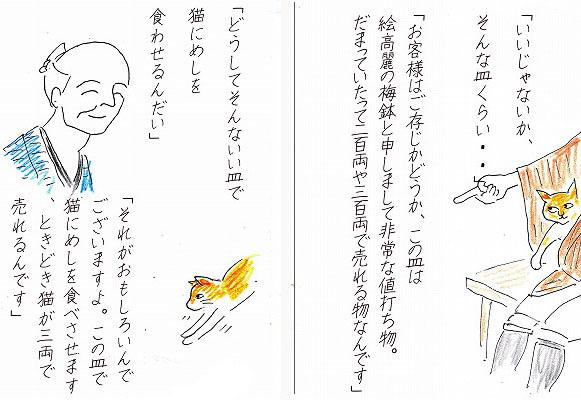 ⑦⑧猫の皿