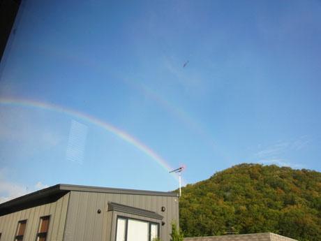 20131012朝の虹