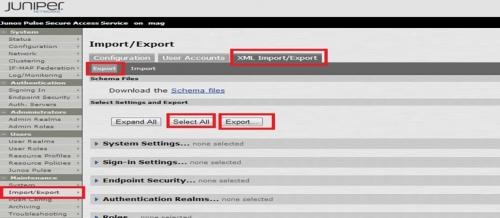 JuniperNetworks-SecureAccess-MAG-バージョンアップ手順4