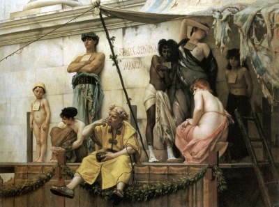 ギュスターヴ・ブーランジェの描いた奴隷市場