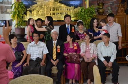 親族記念撮影