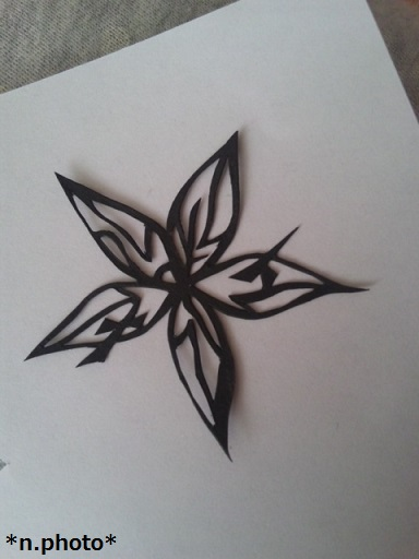 0切り絵花 (1)