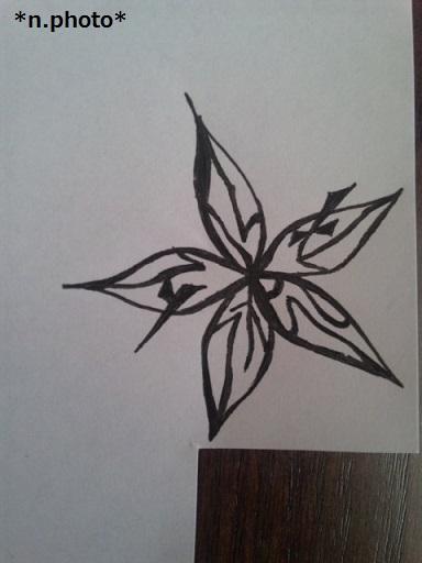 0切り絵花 (2)