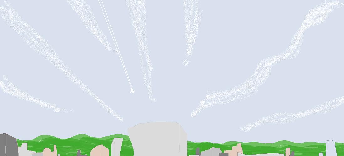 雲の行く先