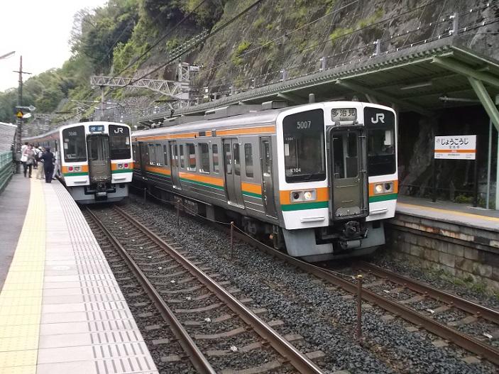 DSCF3325 130427 定光寺駅