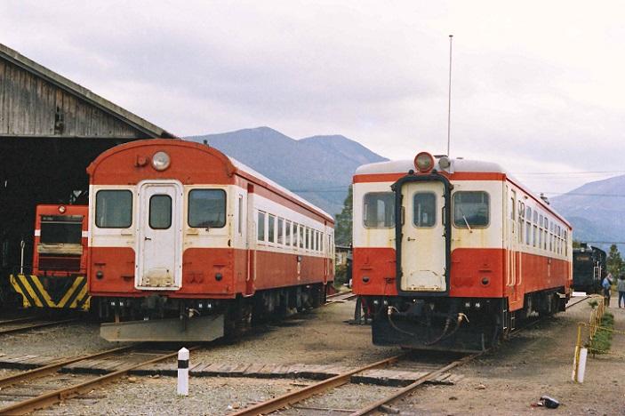 850328 加悦駅 キハ08とキハ10  - コピー