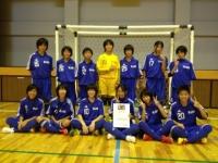 第4回全日本女子ユース(U15)フットサル長崎県大会