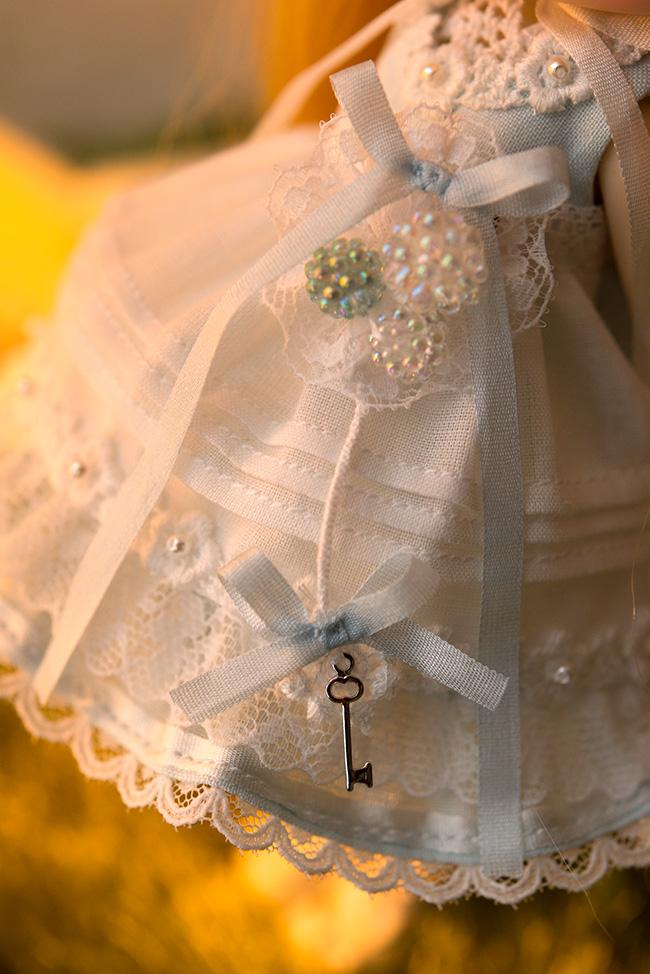 ドレスのカギ