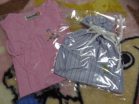 ホーチミンお土産ベビー服とポーチ