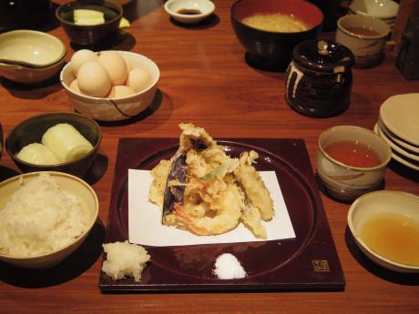 銀平北新地天ぷら定食