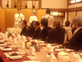 武居結婚式