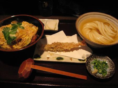 カツ丼セット+えび天