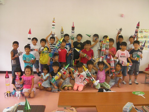 8.23ペットロケット教室⑤