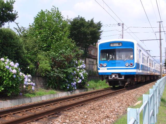 伊豆箱根鉄道3000系 三島広小路~三島田町
