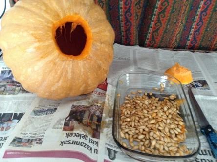 かぼちゃの種が
