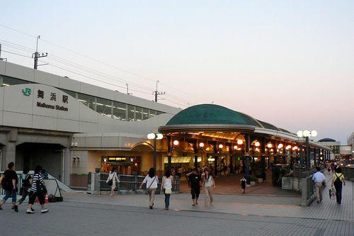 舞浜駅全景