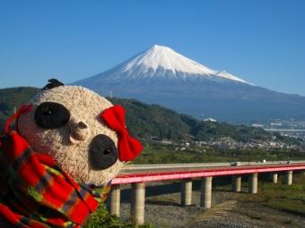 ばぶちゃん富士川SAにて