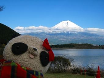 田貫湖からの富士山とおばぶ