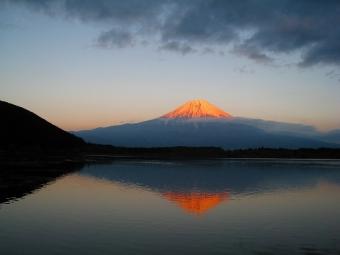 田貫湖の逆さ富士02
