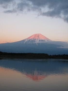 田貫湖の逆さ富士03