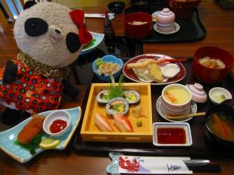 かに寿司盛合せランチ