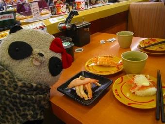 スシローで寿司