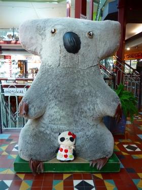 巨大コアラとばぶちゃん