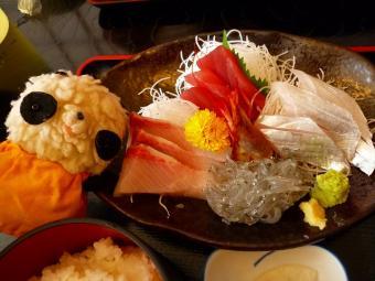 沼津魚市場食堂さしみ定食