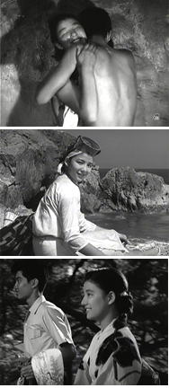 映画「潮騒」 1954年 監督:谷口...