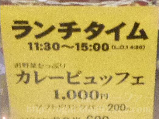 もうやんカレー京橋店カレー食べ放題ビュッフェランチ001