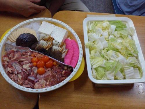 なべ 生肉