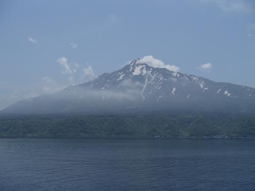 初夏の利尻島