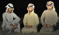 イケメンすぎてサウジアラビアを追放された3人の男性たちかも!