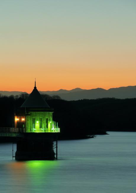夕刻の監視塔②