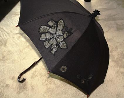 転写日傘 ハンドメイド