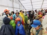 ゲリラ豪雨で避難