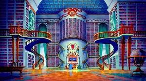 美女と野獣図書室3