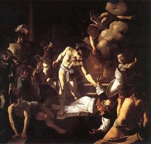 カラヴァッジョマタイの殉教