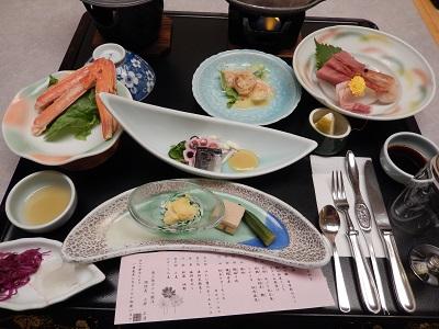 観洋さん夕食