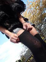 良い女がニーソックスを履いたら無双状態[画像]