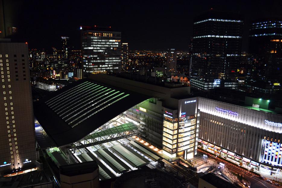 大阪駅夜DSC_0254*